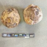 Cannon Balls found at the castle