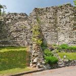 Pontefract castle Ruin